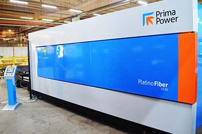 Prima Power Platino Fiber Evo Laser Cutting Machine